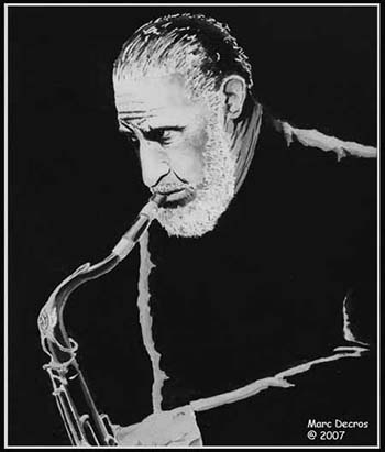 Sonny Rollins by marco